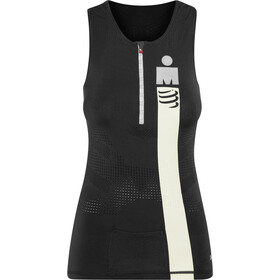 Compressport TR3 Débardeur de triathlon Ironman Edition Femme, smart black